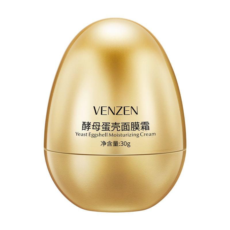 Крем з екстрактом гідролізовані мембрани яєчної шкаралупи Venzen Yeast Eggshell Moisturizing Cream, 30г