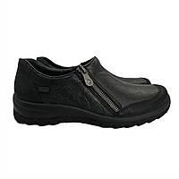 Туфлі Rieker 36(р) Чорний Шкіра 0-1-1-L-7152-00