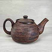 Чайник заварювальний 0,8 л, червона глина