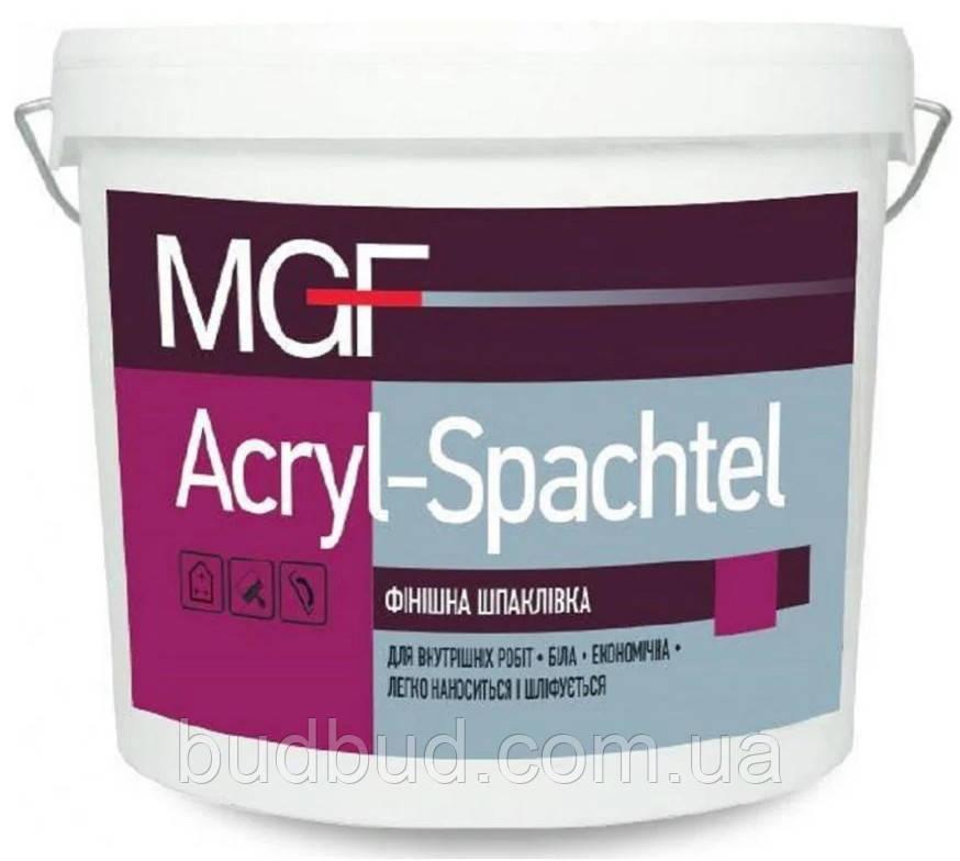 Шпаклівка фінішна готовая до використання MGF Acryl-Spachtel 17 кг