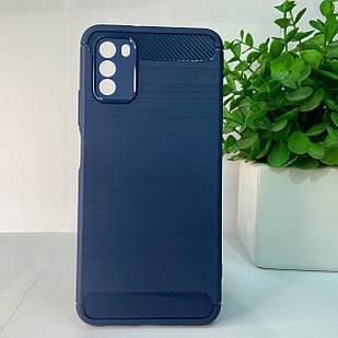Чехол Xiaomi Poco M3 синий
