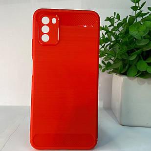 Чехол Xiaomi Poco M3 красный