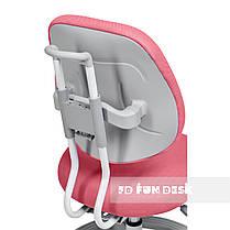 Универсальный комплект для девочки👸  парта FunDesk Amare II Pink + эргономичное кресло FunDesk Pratico Pink, фото 2