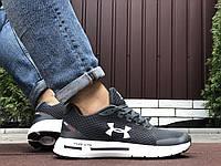 Літні кросівки Under Armour HOVR сітка сірі спортивні кросівки Андер Армор