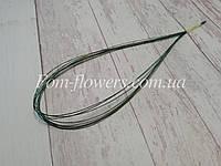 Дріт в паперовій обмотці зелена, 0,5 мм, довжина 65 см