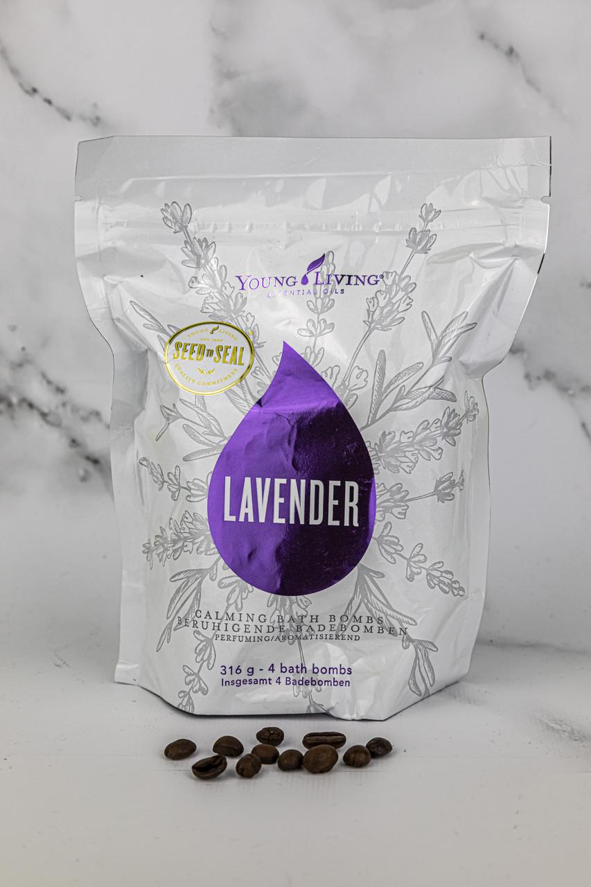 Бомбы для ванны Lavender Calming Bath Bombs Young Living 4шт.
