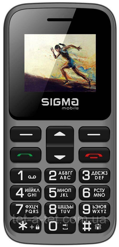 Мобильный телефон Sigma Mobile Comfort 50 HIT2020 Grey