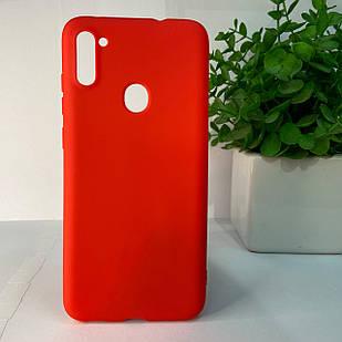 Чехол Samsung A11 A115 M11 M115 красный