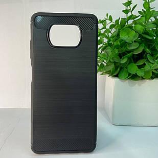 Чехол Xiaomi Poco X3 черный