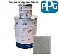 Краска для металла антикоррозионная полиуретановая PPG Sigmadur 520 Серебристый (Алюминиевый) 4л. 4.4 кг.