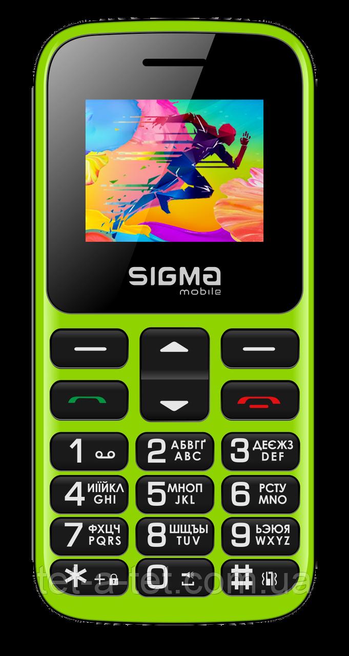 Мобільний телефон Sigma Mobile Comfort 50 HIT2020 Green