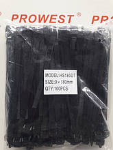 Кабельна стяжка 9X180MM чорна