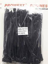 Кабельна стяжка 9X270MM чорна