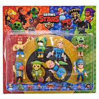 Фігурки героїв BRAWL STARS