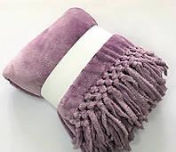 Tivolyo Home плед Nappa Soft с кисточками евро ( в разных расцветках), фото 1