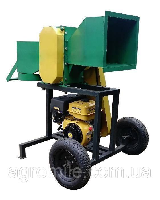 Подрібнювач гілок Володар РМ-80Д під двигун (без двигуна) (діаметр 60-80 мм)