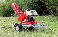 Измельчитель веток Arpal АМ-120БД-К с транспортером и бензиновым мотором, 18 л.с. (диаметр веток 120 мм), фото 5