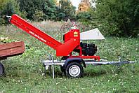 Измельчитель веток Arpal АМ-120БД-К с транспортером и бензиновым мотором, 18 л.с. (диаметр веток 120 мм), фото 10