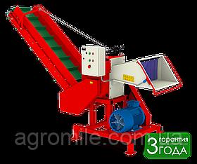 Измельчитель веток Arpal АМ-120Шс транспортером и электрическим мотором, 18 кВт (диаметр веток 120 мм)