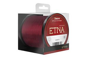 Коропова волосінь, волосінь на карпа, Волосінь Delphin ETNA 1000m / бордова 0,369 мм 22lbs