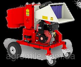 Измельчитель веток Arpal АМ-120Д с дизельным двигателем 14 л.с. (диаметр веток 120 мм)