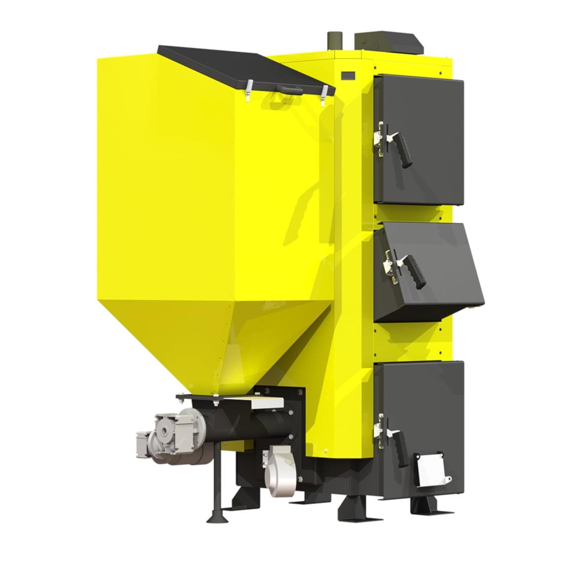 Котел твердопаливний KRONAS COMBI 35 кВт пелетний