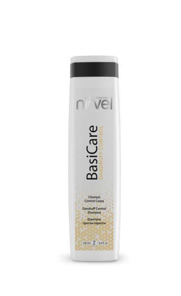 Nirvel BasiCare Dandruff Control Shampoo. Шампунь для волос против перхоти, 250 мл.
