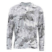 Блуза Simms SolarFlex Crewneck Prints Cloud Camo Grey Є розміри