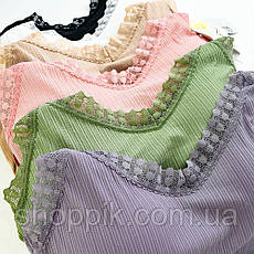 Набір жіночої білизни Beisdanna 2258 топ і слипи, фото 3