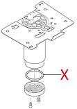 5332149100 Гумовий ущільнювач(на поршень термоблоку), DeLonghi, фото 2