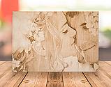 Подарок любимой жене Оригинальный подарок на свадьбу (портрет выжженный на дереве), фото 8