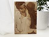 Подарок любимой жене Оригинальный подарок на свадьбу (портрет выжженный на дереве), фото 9