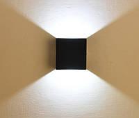 Архитектурный светильник-бра FERON DH028 3w IP54 черный фасадный