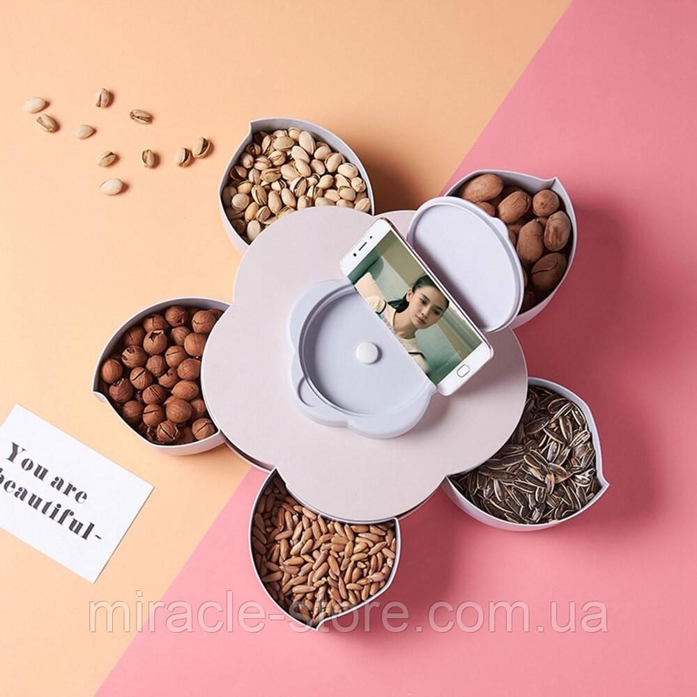 Органайзер для сладостей Candy Box 1 ярус менажница
