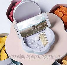 Органайзер для сладостей Candy Box 1 ярус менажница, фото 3