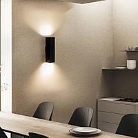 Світильник настінний бра під дві лампи квадрат Е27 SQ 2206 MSK Electric, фото 1