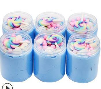 Blueberry Lollipops / Черничный леденец  слайм ( 40г)