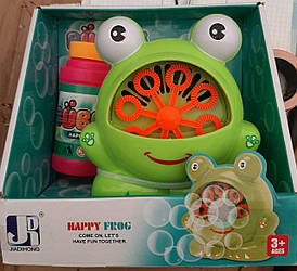 Машина для мильних бульбашок у вигляді жаби на батарейках