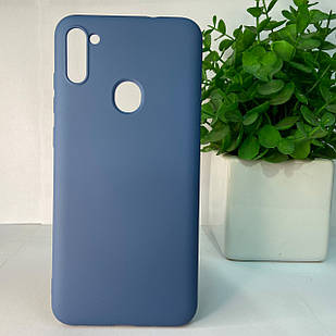 Чехол Samsung A11 A115 M11 M115 синий