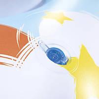 Надувний круг пліт з ручками дитячий Intex 57552, Єдиноріг, 163х86 см, фото 3