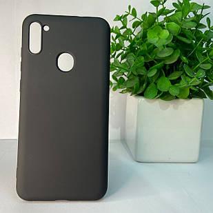 Чехол Samsung A11 A115 M11 M115 черный