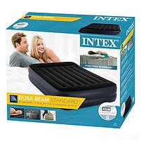Надувная кровать Intex 64124 со встроенным электронасосом, 152х203х42 см, фото 4