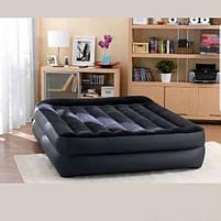 Надувная кровать Intex 64124 со встроенным электронасосом, 152х203х42 см, фото 5