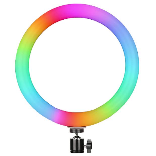 Кільцева лампа для Селфі Ring light MJ26 RGB LED, 26 см
