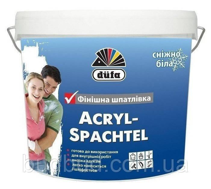 Шпаклівка фінішна Acryl Spachtel Dufa  1,5 кг