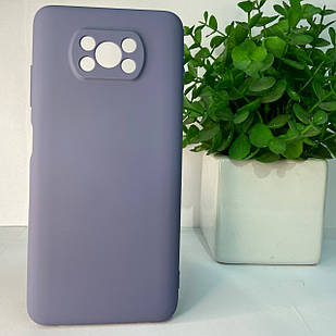 Чехол Xiaomi Poco X3 синий