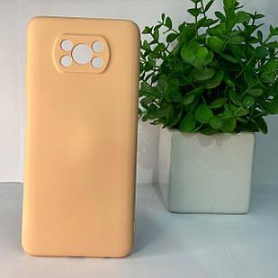 Чехол Xiaomi Poco M3 розовый