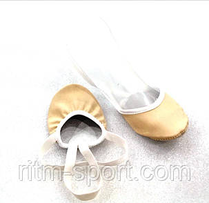Получешки шкіряні (напівпальці, носики) гімнастичні, фото 2