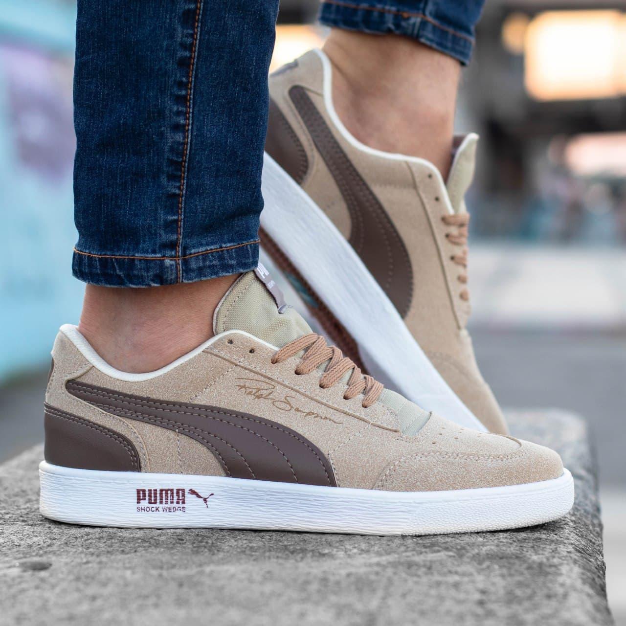 Чоловічі кросівки Puma Ralph Sampsone Beige