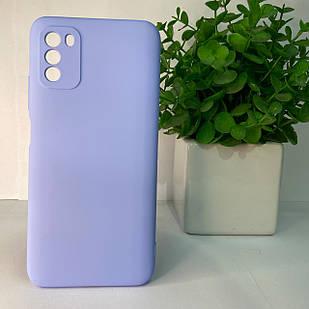 Чехол Xiaomi Poco M3 фиолетовый